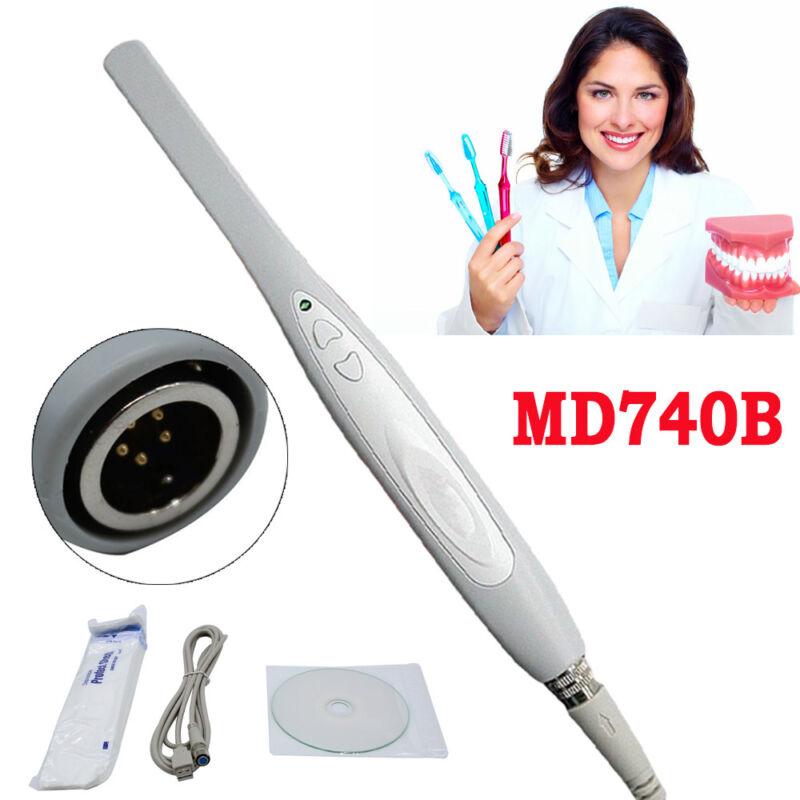 Dental Intraoral Oral Camera USB-X Imaging System MD740B+50 Sheaths USA