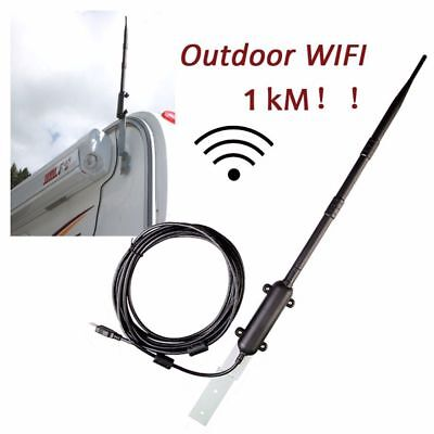 Outdoor Wireless USB Adapter 150Mbps High Power WiFi Antenna Signal Receiver MY