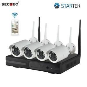 Kit of 4 WI-FI Security Cameras FULL HD perfect for you ( latest version 2019 )