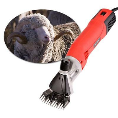 220v Electric Clippers Shears With Case For Sheep Goat Farm Animal Hair Trimmer