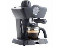VonShef 4 bar coffee espresso maker machine NEW