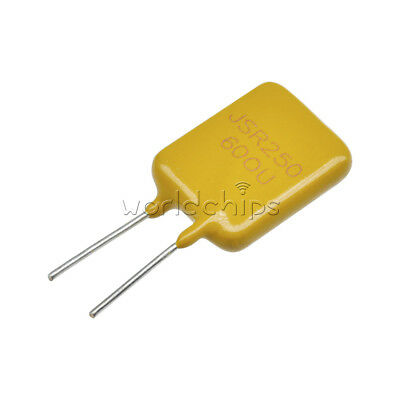 50pcs 0.65a 250v 650ma Polyswitch Resettable Fuse Poly Switch Fuses Polyfuse