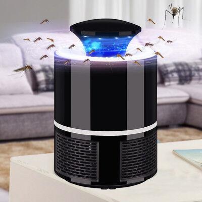 (USB Electric Mosquito Insect Killer LED Trap Lamp Control de plagas Zapper Lamp)