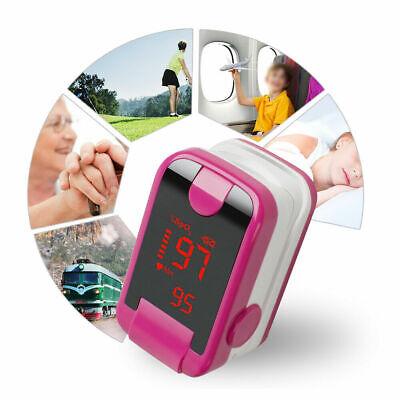 Finger Tip Pulse Oximeter Meter Spo2 Pulse Rate Monitor Blood Oxygen Saturation