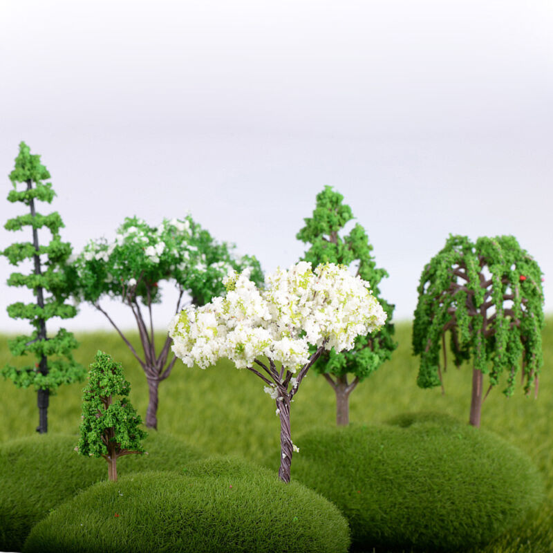 Bonsai Miniatures Tree Figurine Fairy Garden Decoration Simulation Plants For Sale Online Ebay