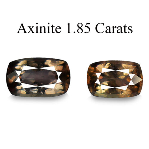 Axinite 1.85ct AAA color change 100% natural earth mined rare genuine gemstone