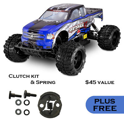 REDCAT RACING RAMPAGE XT 1:5 scale 4x4 RC Gas Monster Truck + BONUS Spare Parts