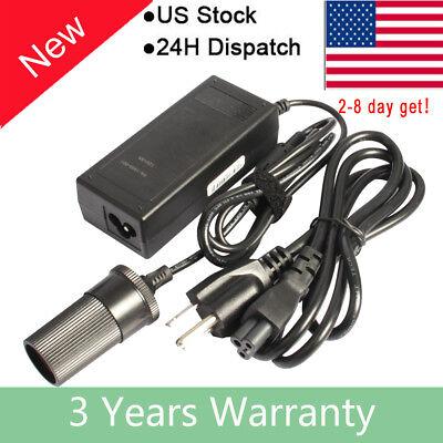60W Power Regulator Converter 12V 5A AC/DC Adapter Delivery Car Cigarette Lighter