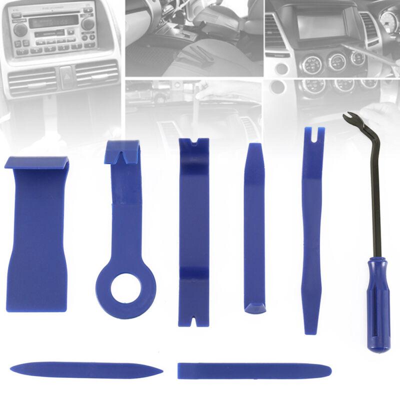8 pcs Universal Panel Removal Open Pry Tools Kit Car Auto Dash Door Radio Trim