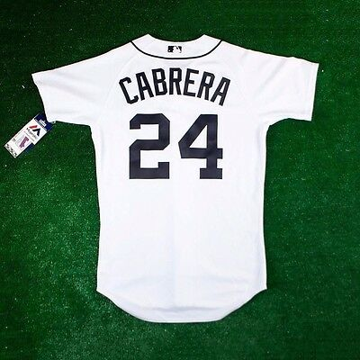 Miguel Cabrera Detroit Tigers Authentic On-field Home (White) Jersey