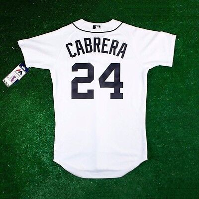 Miguel Cabrera Home Jersey - Miguel Cabrera Detroit Tigers Authentic On-field Home (White) Jersey