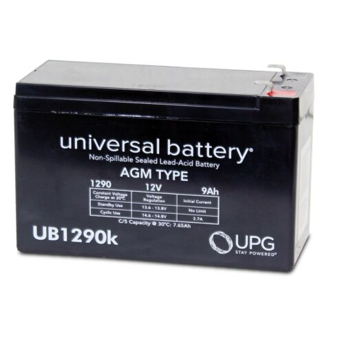 NEW UPG UB1290 12V 9AH SLA Replacement Battery for APC Back-