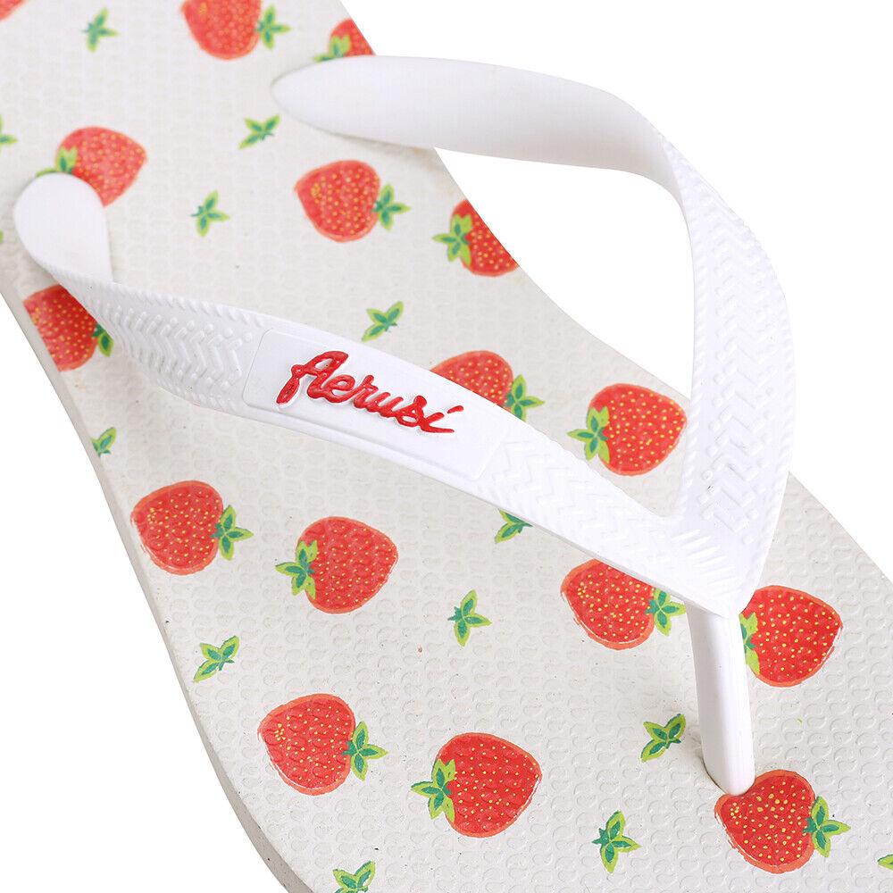 Strawberry Kid Girl/'s Flip Flops Sandals Slip-on Summer Beach Slippers Shoes