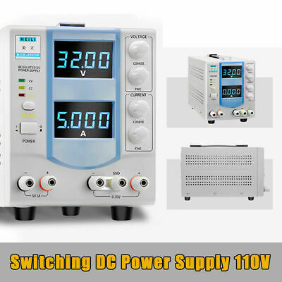 Mch-305db 0-32v 0-5a Dc Power Supply Regulated Variable Led 110v 160w Fast Ship