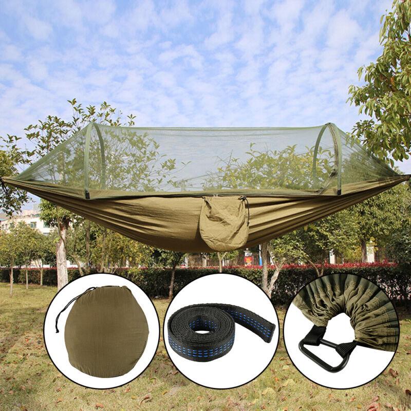 Outdoor Camping Moskitonetz Hängemattenzelt Nylon Doppel Schaukelstuhl DE