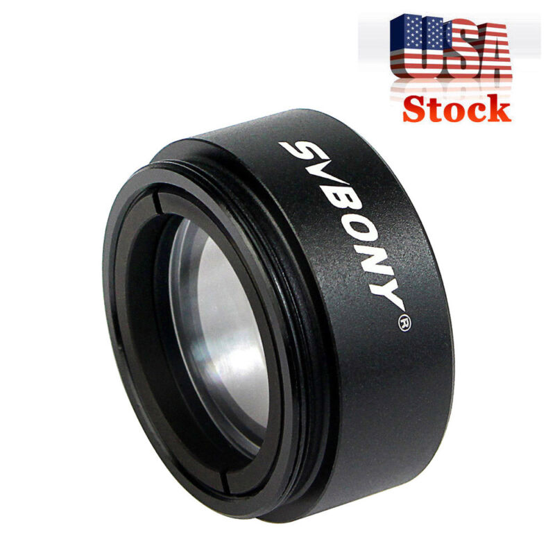 """1.25"""" Telescope 0.5 Focal Reducer Threads M28.0x0.6 for 31.75mm Eyepiece US Ship"""
