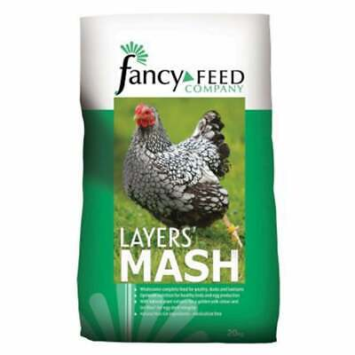 Fancy Feeds Layers Mash - Feed for All Types of Poultry, Ducks & Geese - 20kg