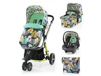 Cosatto FIRBIRD 3 in 1 pram/buggy with full travel system
