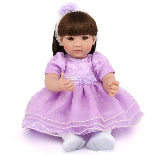 "20/"" Reborn Baby Dolls Newborn Toddler Girl Doll Babies Vinyl Silicone Handmade"