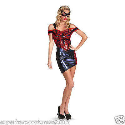 The Amazing Spider-Man Spider-Girl Glam Female Adult Costume Dress 4-6  -  57835