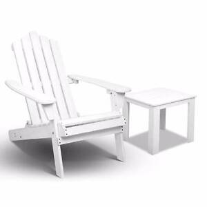 Adirondack Foldable Deck Chair & Side Table Set Castle Hill The Hills District Preview