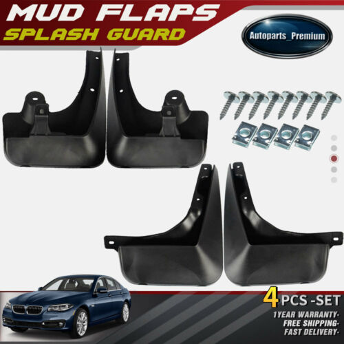 4x Front /& Rear Mud Flaps Splash Guards Mudflaps for BMW X1 E84 2010-2015
