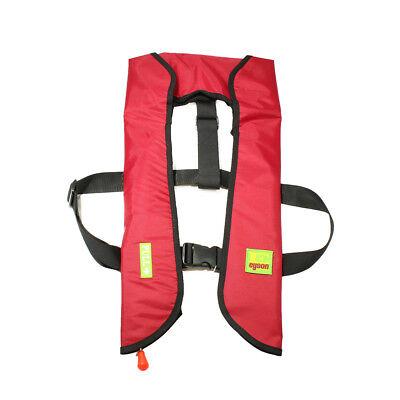 A-33 Automatic/ Manuel Life Jacket Vest Auto Inflatable PFD Survival -
