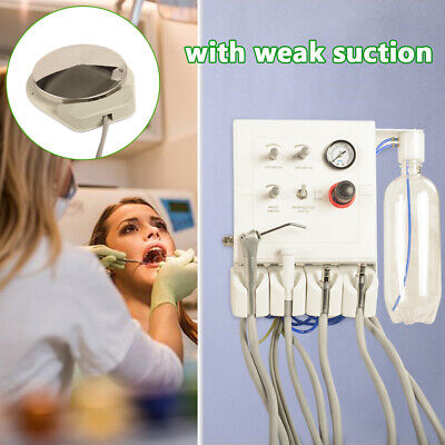 Wall Mouted Portable Dental Turbine Unit Work With Air Compresso Weak Suction 4h