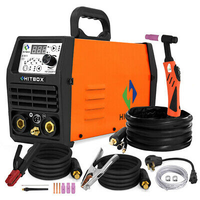 Hitbox Hf Pulse Tig Welder 110220v Dual Voltage Tig Arc Stick Lift Tig Welding