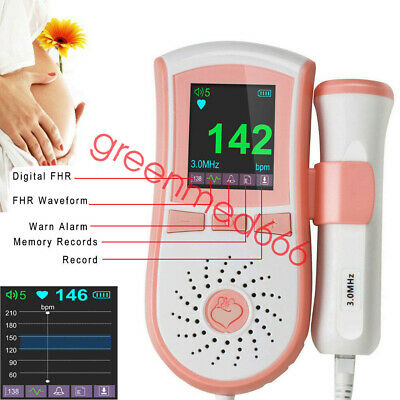 Fetal Doppler 3mhz Fetus Doppler Pregnancy Baby Heart Beat Scan Monitor
