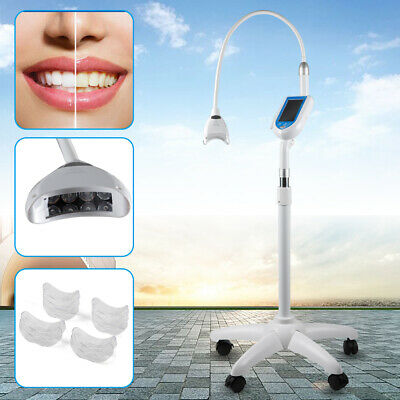 Dental Mobile Bleaching Lamp Teeth Whitening Accelerator Led Light Touch Screen