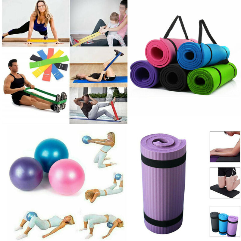 Exercise Fitness Pilates Camping Gym Ball Meditation Pad Non