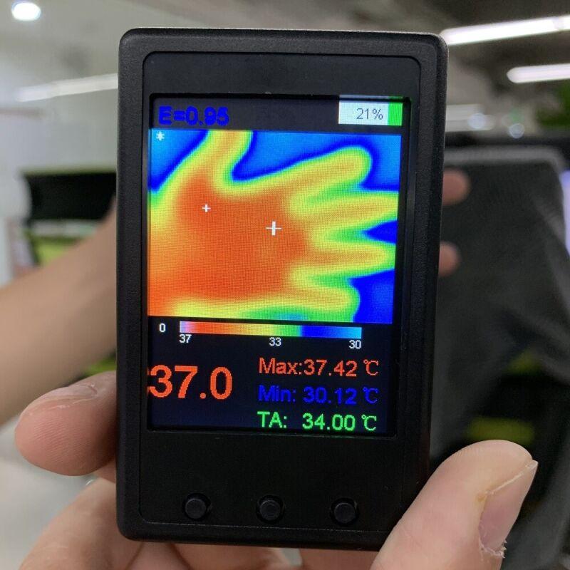 HY-18 Handheld Digital IR Infrared Imager Thermal Imaging Camera Thermometer