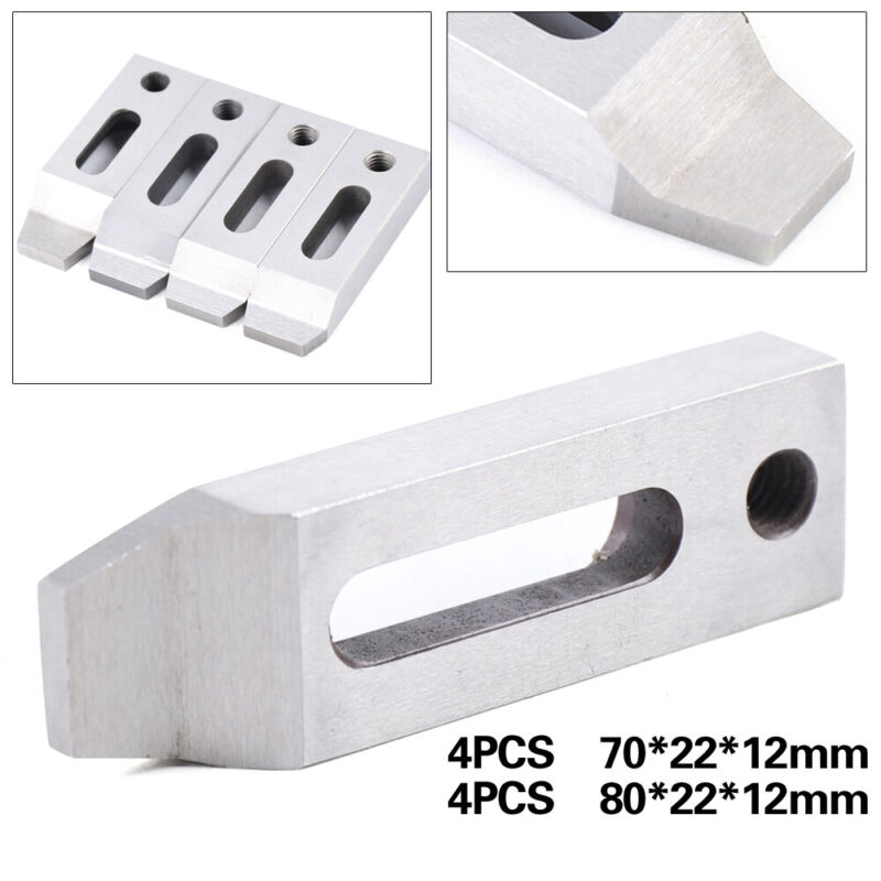 4X Wire Cut EDM Jig Holder For Clamping and Leveling 70mm / 80mm M8 x 1.25 Screw