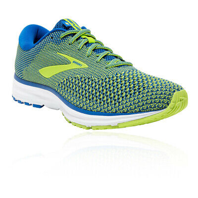 Brooks Mens Revel 2 Running Shoes Trainers Sneakers Blue Yellow Sports
