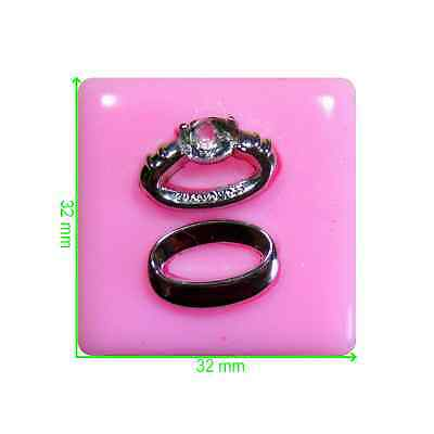 Wedding & Engagement Rings Mould by Fairie Blessings
