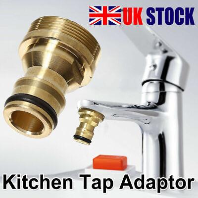 Universal Kitchen Tap Connector Mixer Garden Hose Adaptor Pipe Joiner Fitting UK