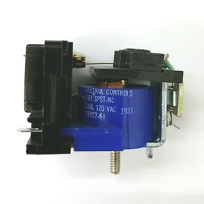 New Deltrol 28922-61 120 Volt Ac Coil 13 Amp 161 Spst-nc Normally Closed Relay
