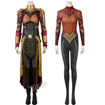 Black Panther Okoye Cosplay Costume Comic Con Outfit Dora Milaje Full Size Suit](Dora Costume Adult)