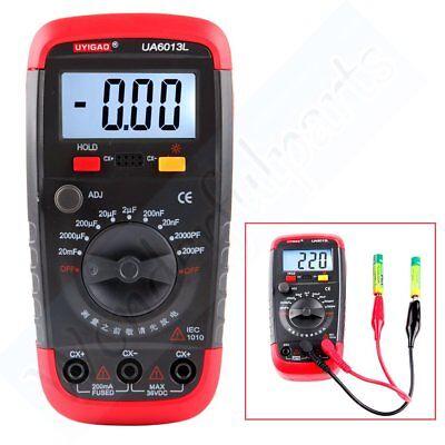 Handheld Digital Auto Range Capacitor Capacitance Tester Meter For Ua6013l Lcd