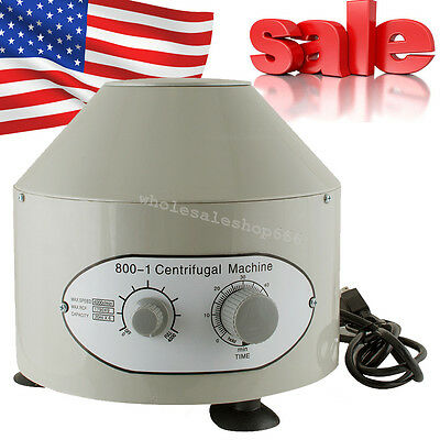 Electric Centrifuge Machine 4000rpm Lab Medical Practice 25w 4000rmin 60hz Usa