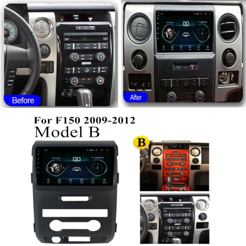 For 2009-2012 Ford F150 Stereo Radio GPS Navigation 9