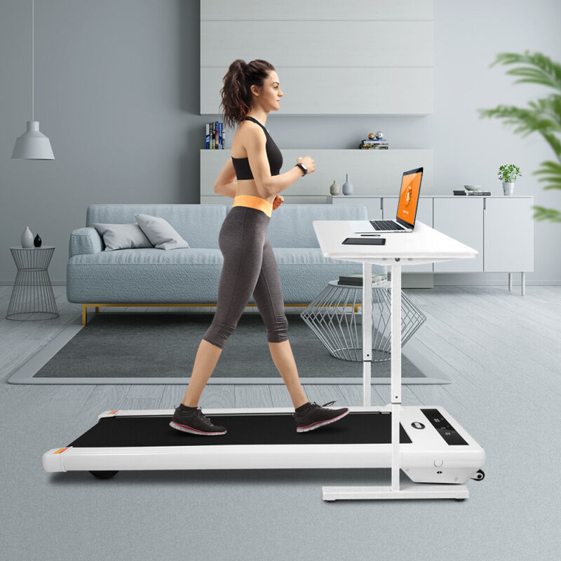 Electric Walking Pad Treadmill Working Machine Cardio Fitness Exercise Home