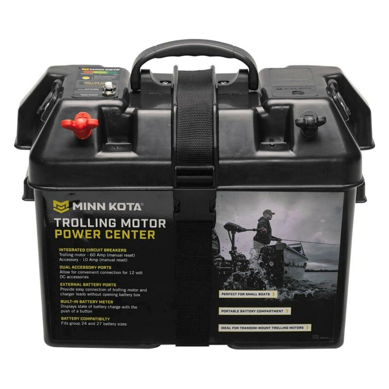 Minn Kota Trolling Motor Battery Power Center