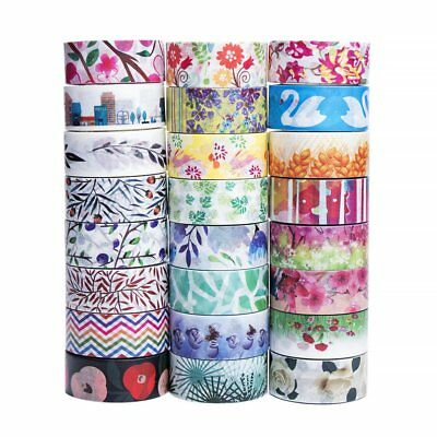24 Rolls Washi Tape Set - The Theme of nature, 24 different designs about - Washi Tape Cheap