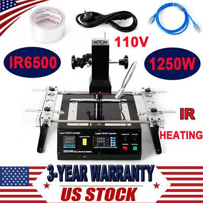 Ir Infrared Ir6500 Bga Rework Station Welding Solder Reballing For Xbox360 Ps3