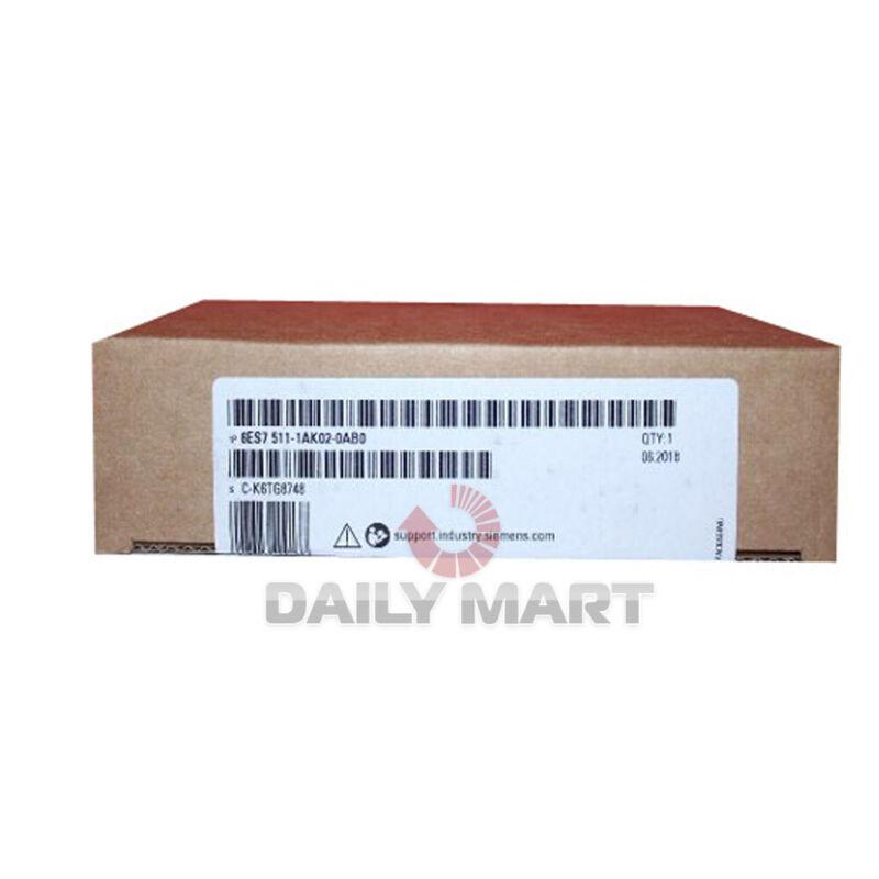 New In Box SIEMENS 6ES7 511-1AK02-0AB0 SIMATIC S7-1500 CPU Module W/150KB Memory