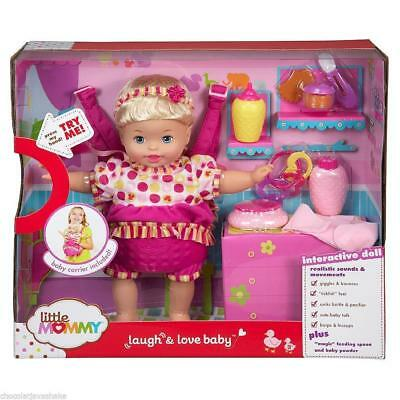 Little Mommy Laugh and Love Baby Doll, Interactive - New / Sealed