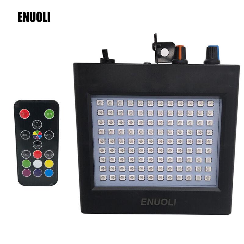 US RGBW LED Strobe Disco Light Indoor DJ Party KTV Bar Club Lighting+Remote