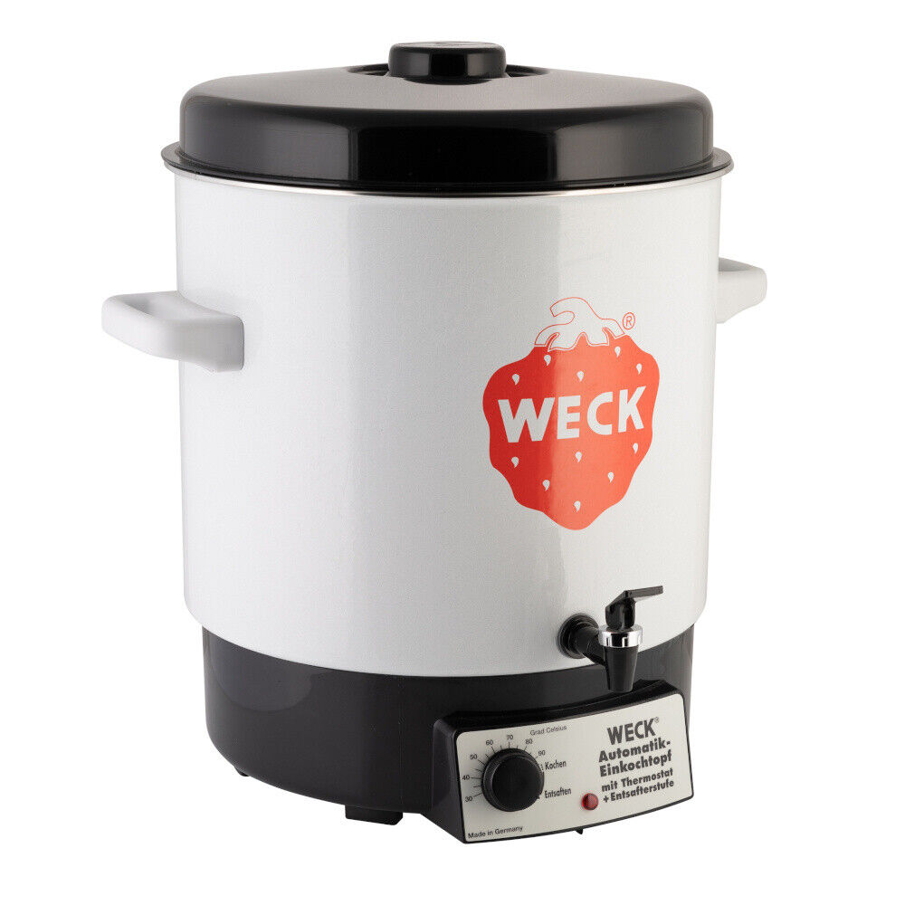 WECK® Einkochautomat 29 Liter 2000 Watt Einkochtopf Glühweintopf Glühweinkocher